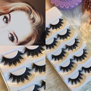 Other - 5 Pairs Iconic Eyelashes